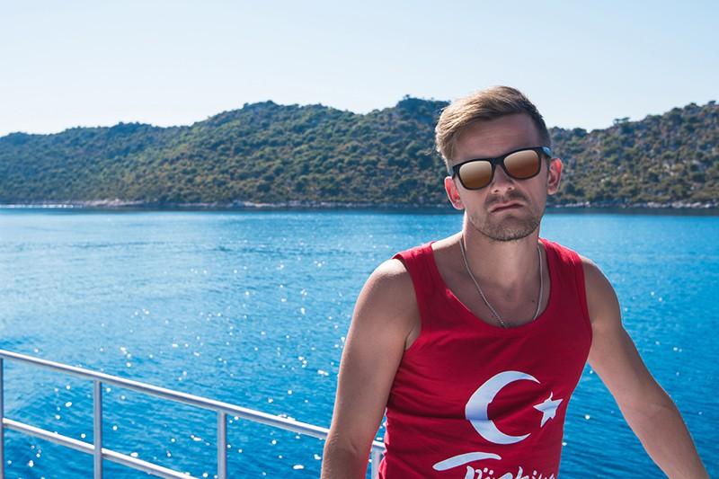 Недовольный турист в Турции