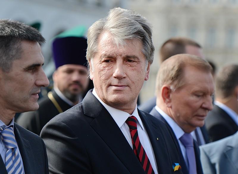 Экс-президенты Украины Виктор Ющенко