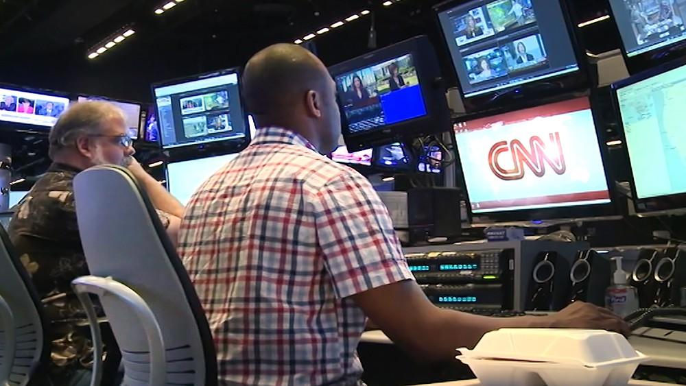 Телестудия телеканала CNN