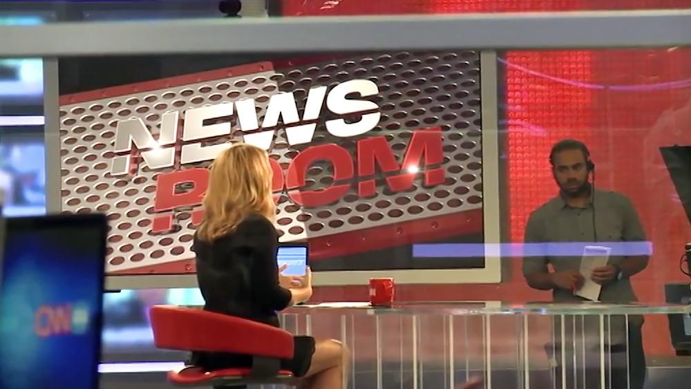 Студия новостей телеканала CNN