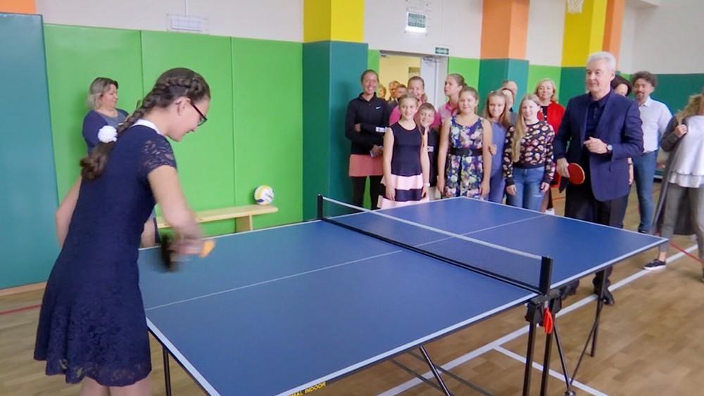 Сергей Собянин посетил новую школу