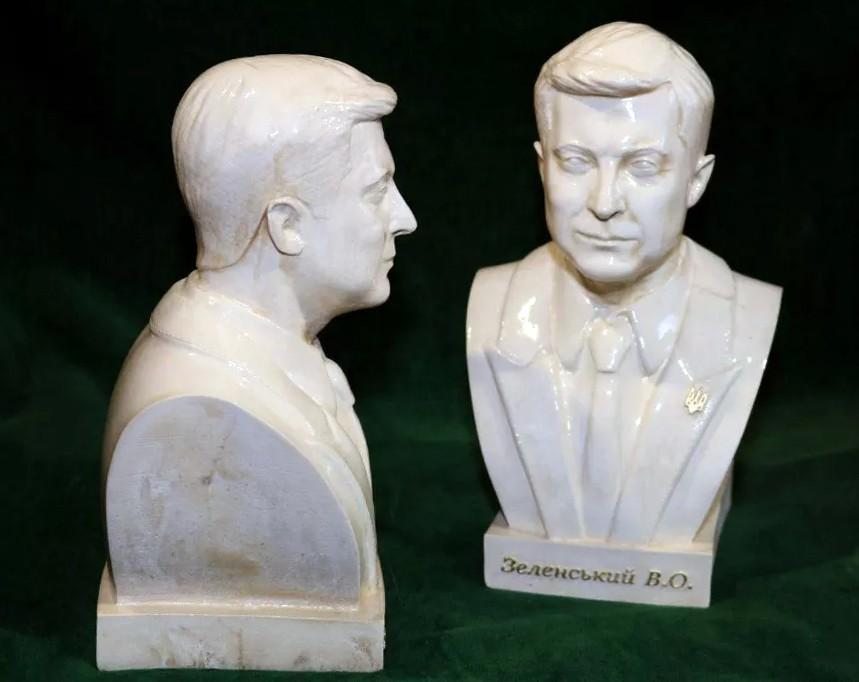 Бюст Владимира Зеленского