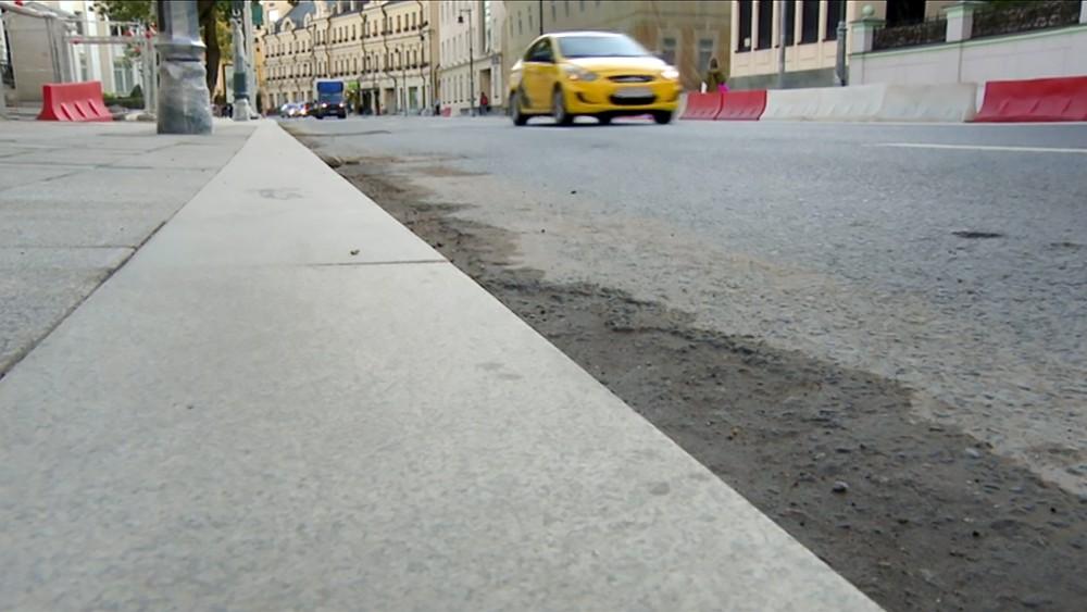 Благоустройство улицы Остоженка