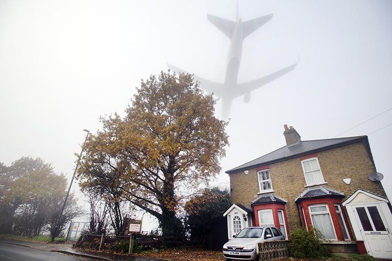 Посадка самолета в тумане
