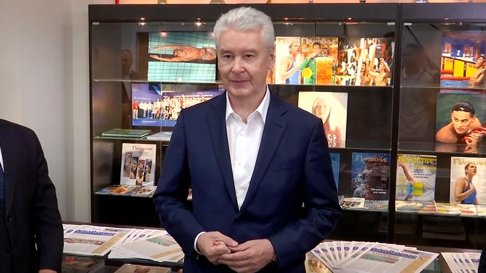 Сергей Собянин посетил физкультурно-оздоровительный центр