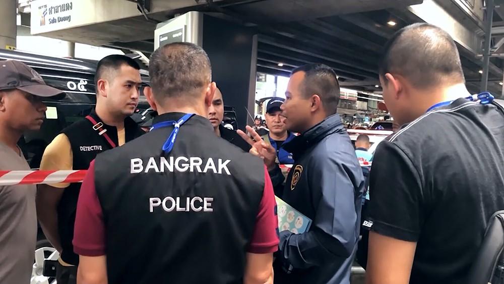 Полиция Бангкок. Таиланд