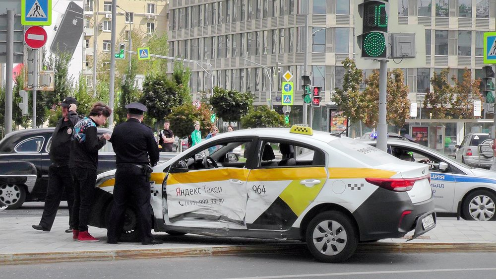 Последствия ДТП с участием автомобиля такси