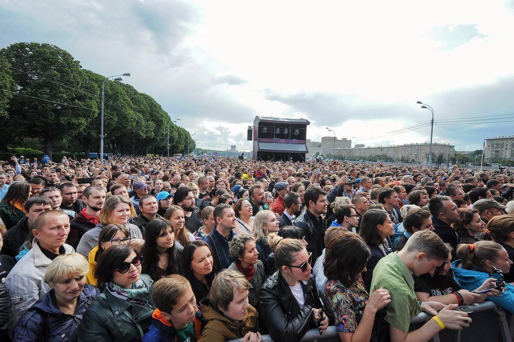 Концерт в Парке Горького