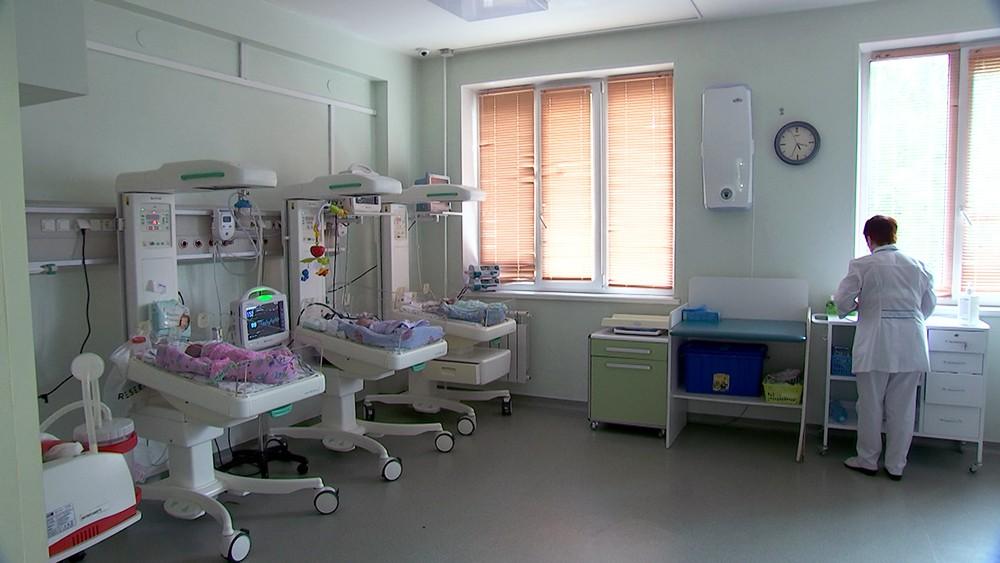 Зал новорожденных
