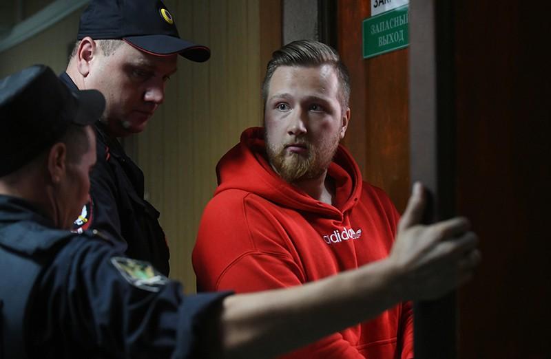 Сергей Абаничев, обвиняемый по уголовному делу о массовых беспорядках в центре Москвы