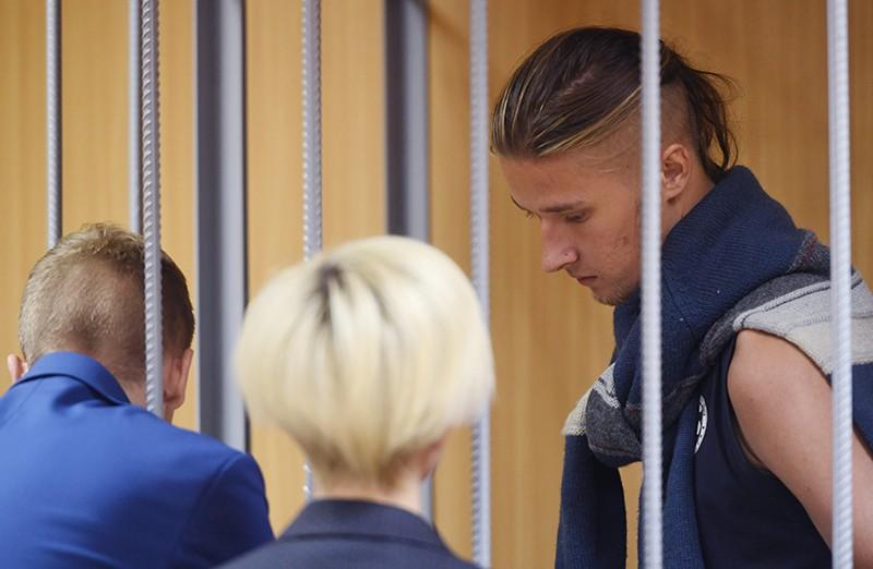 Студент МГТУ им. Баумана Даниил Конон, обвиняемый по уголовному делу о массовых беспорядках в центре Москвы