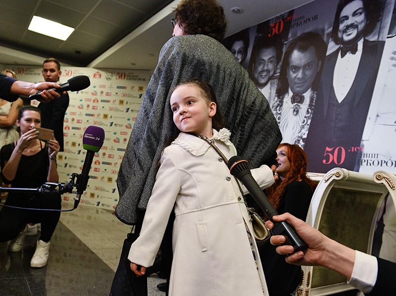 Дочь певца Филиппа Киркорова Алла-Виктория
