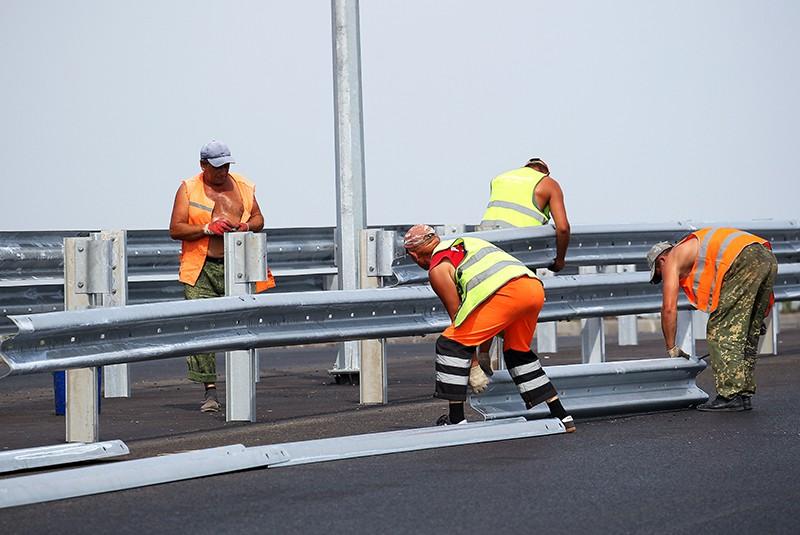 Строительство автомобильной дороги