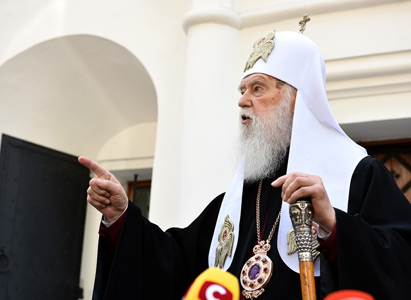 Бывший глава неканонической Украинской православной церкви Киевского патриархата Филарет Денисенко