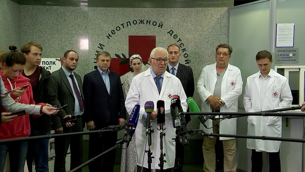 Президент НИИ неотложной детской хирургии и травматологии Леонид Рошаль