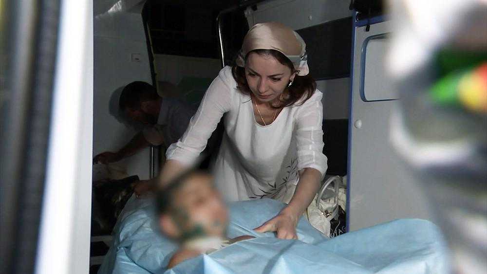 Транспортировка избитой семилетней девочки из Ингушетии на лечение в центр Рошаля