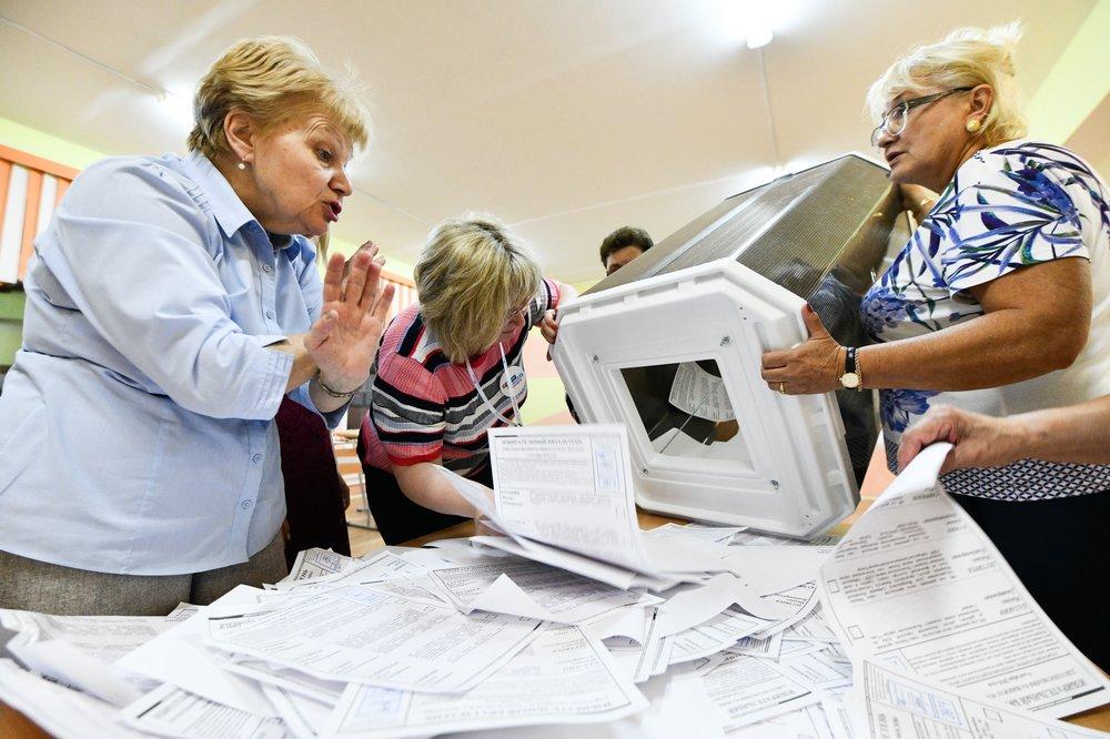 Подсчет голосов избирателей