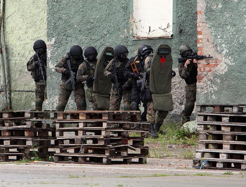 Спецперация по ликвидации боевика