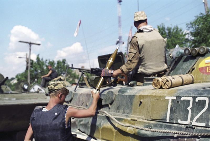 Боевые действия в Дагестане. 1999 год