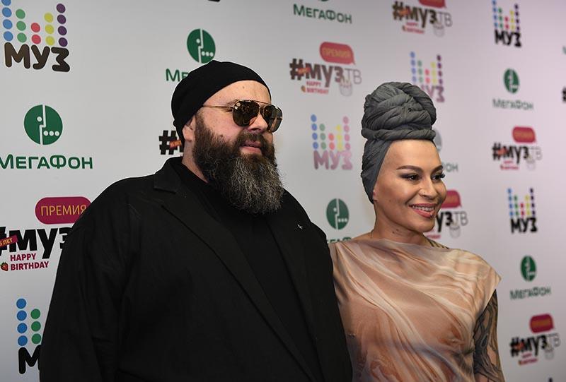 Композитор Максим Фадеев и певица Наргиз Закирова