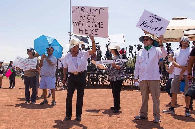 Протесты в США против Дональда Трампа