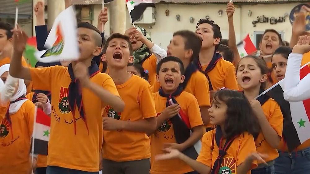 Летний лагерь для сирийских детей