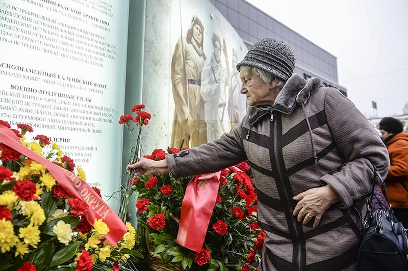 Петербург отмечает 75-летие со дня окончания Ленинградской битвы