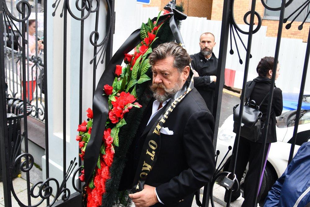 Прощание с певцом Вилли Токаревым