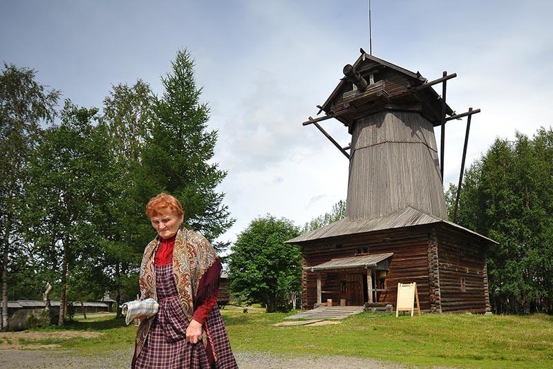 Ветряная мельница-шатровка