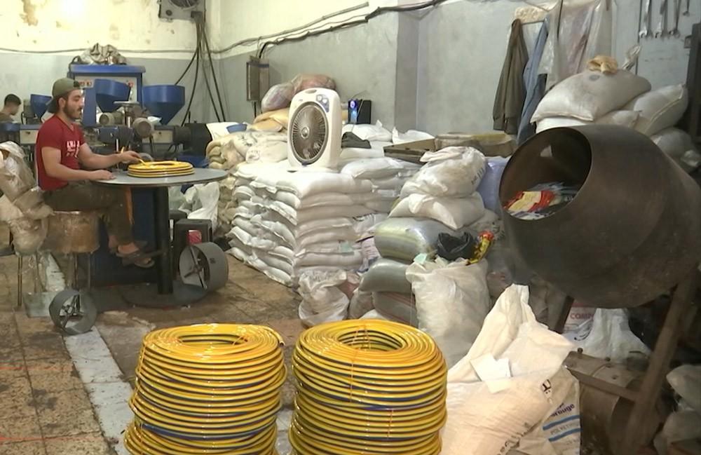 Завод по производству шлангов в Алеппо