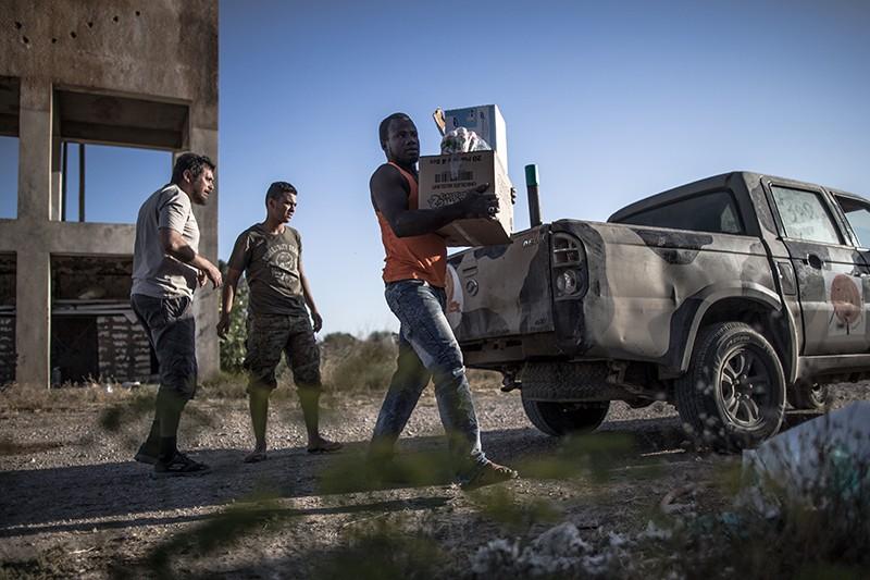 Жители Ливии