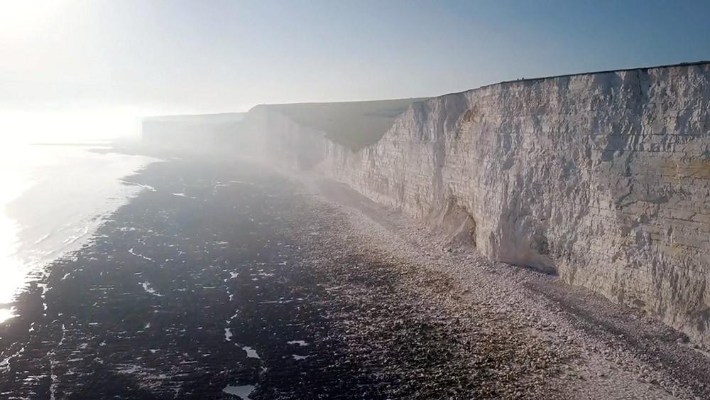 Утес берега Великобритании