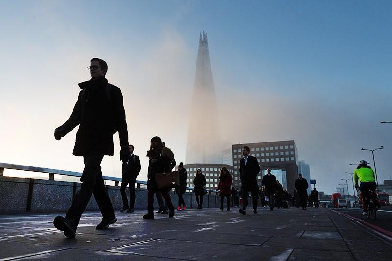 Туман в Великобритании