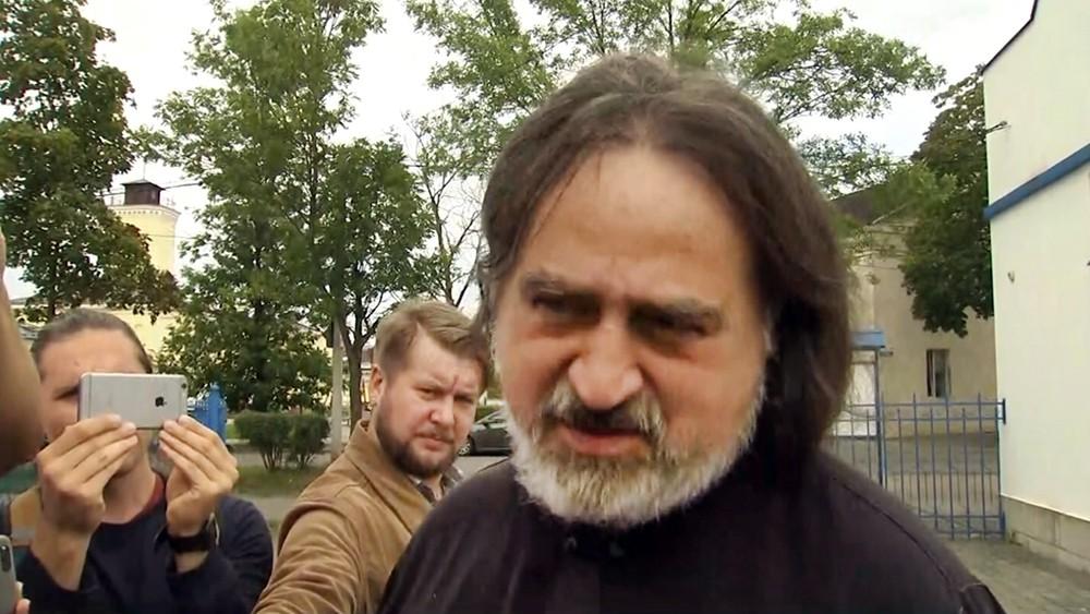 Гатчинский священник Игумен Фотий