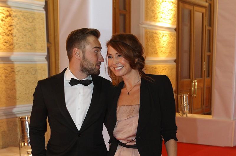 Певица Жанна Фриске с супругом Дмитрием Шепелевым