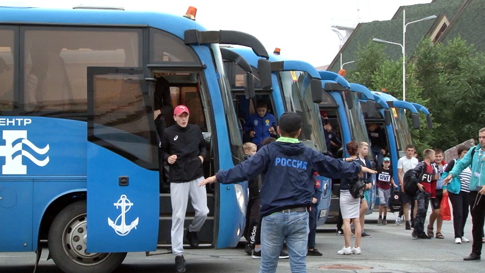 Автобусы с детьми