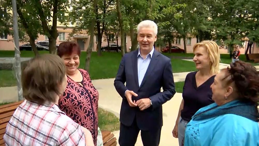 Сергей Собянин и жители Москвы