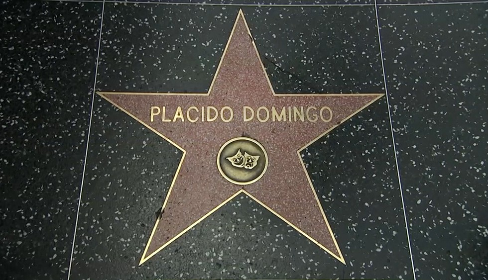 Звезда Пласидо Доминго