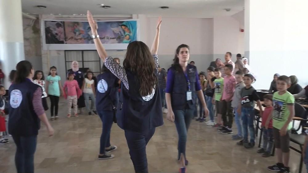 Волонтеры в Сирии