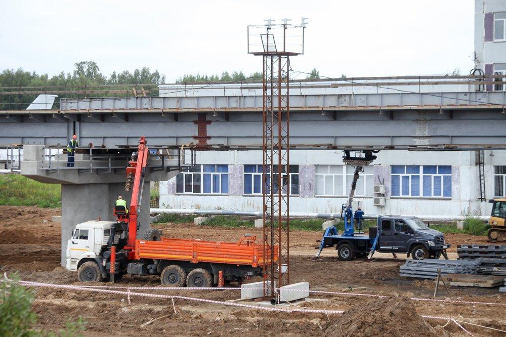 Строительство железнодорожной ветки к северному терминалу В аэропорта Шереметьево