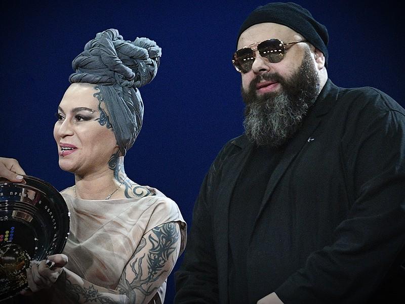 Максим Фадеев и певица Наргиз Закирова