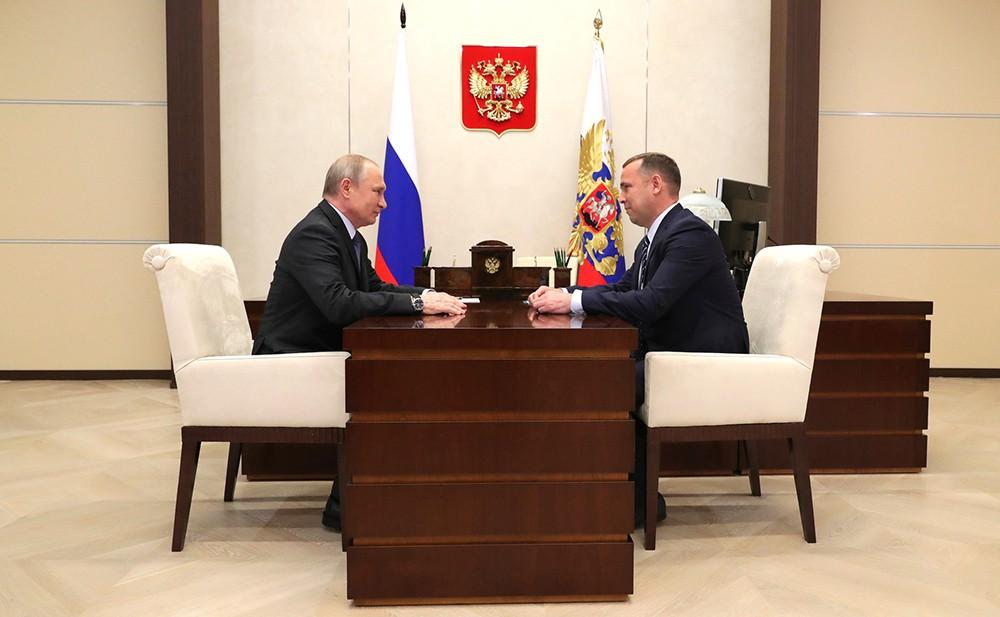 Владимир Путин и Вадим Шумков