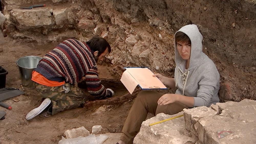 Археологические раскопки в Кремле