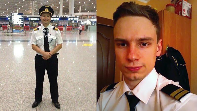 Пилоты самолета Airbus А321 Дамир Юсупов и Георгий Мурзин