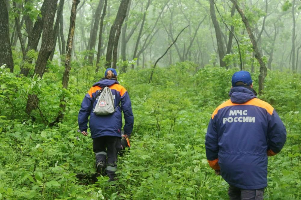 Спасатели МЧС России проводят поисковую операцю