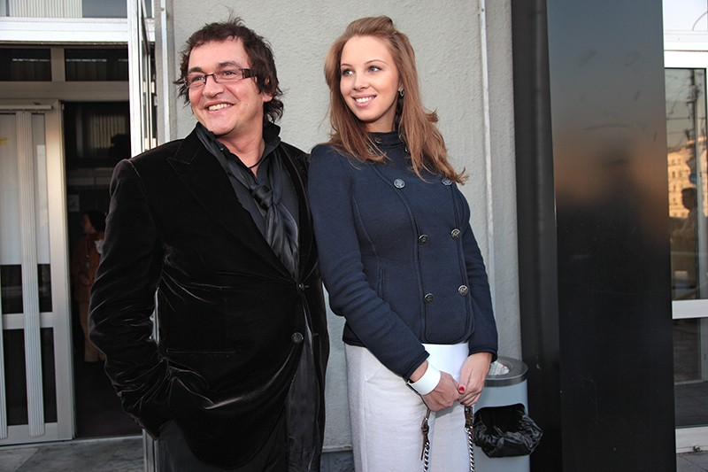 Телеведущий Дмитрий Дибров с супругой Полиной