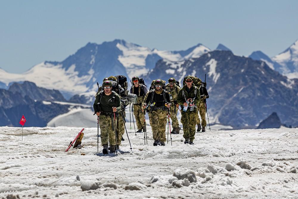 Международные армейские игры в горах
