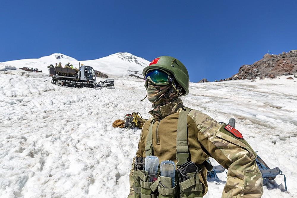 Участники Международных армейских игр в горах