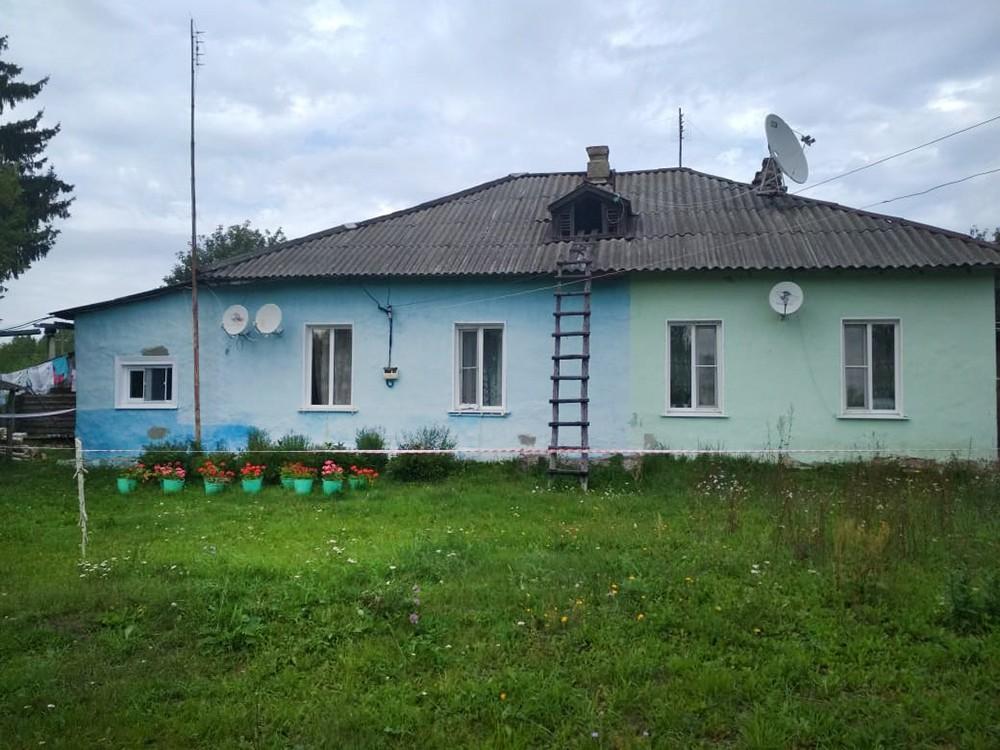 Место убийства семьи в Ульяновской области