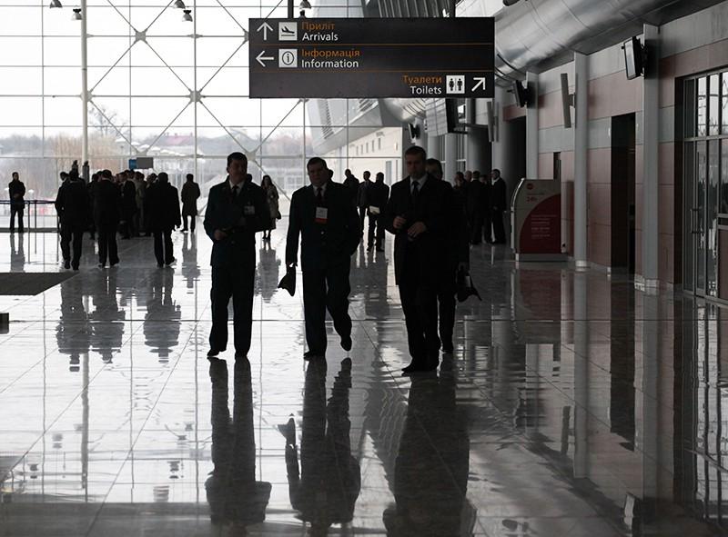Терминал аэропорта на Украине